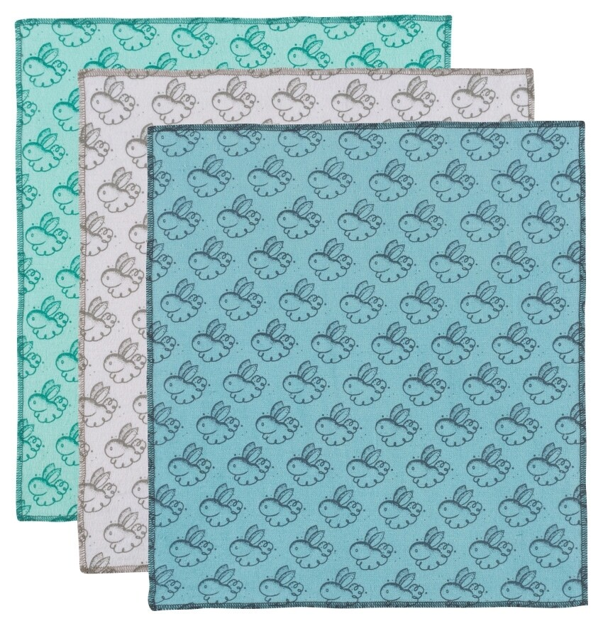 Now Designs Reusable Dusting Cloth (Set of 3) | Dust Bunny