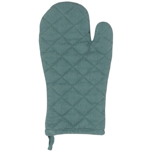 Now Designs Heirloom Stonewash Oven Mitt (Set of 2) - Lagoon