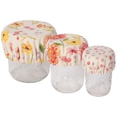 Now Designs Mini Bowl Covers (Set of 3) - Cottage Floral