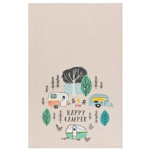 Now Designs Teatowel | Happy Camper