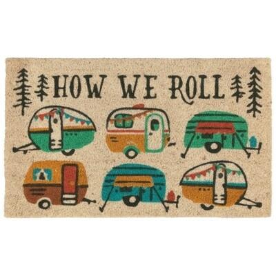 Now Designs Coconut Fiber Doormat | How We Roll
