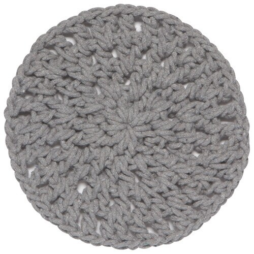 Now Designs Knotted Trivets - Gray