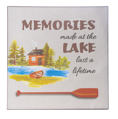 Memories Made at the Lake Wall Plaque