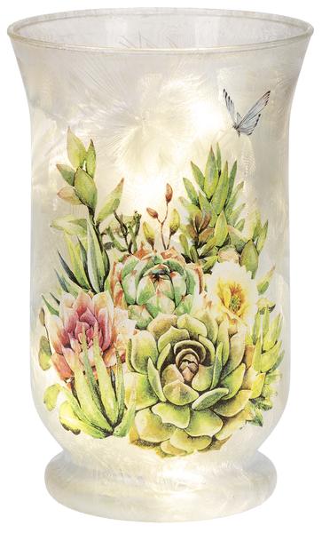 LED Succulents Light Up Vase
