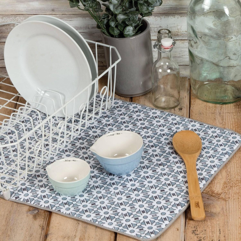 Kay Dee Designs Microfiber Countertop Drying Mat | Modern Farmhouse