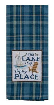 Kay Dee Designs Tea Towel | The Lake is my Happy Place