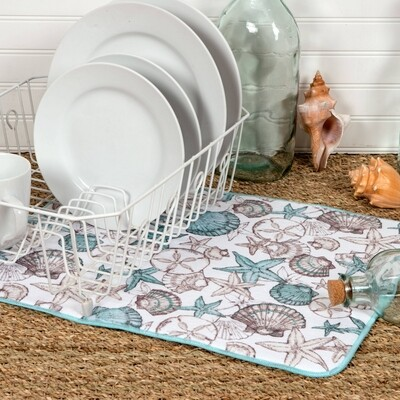 Kay Dee Designs Microfiber Countertop Drying Mat | Beachcomber