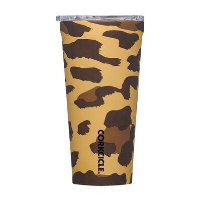 Corkcicle Tumbler   16oz Luxe Leopard