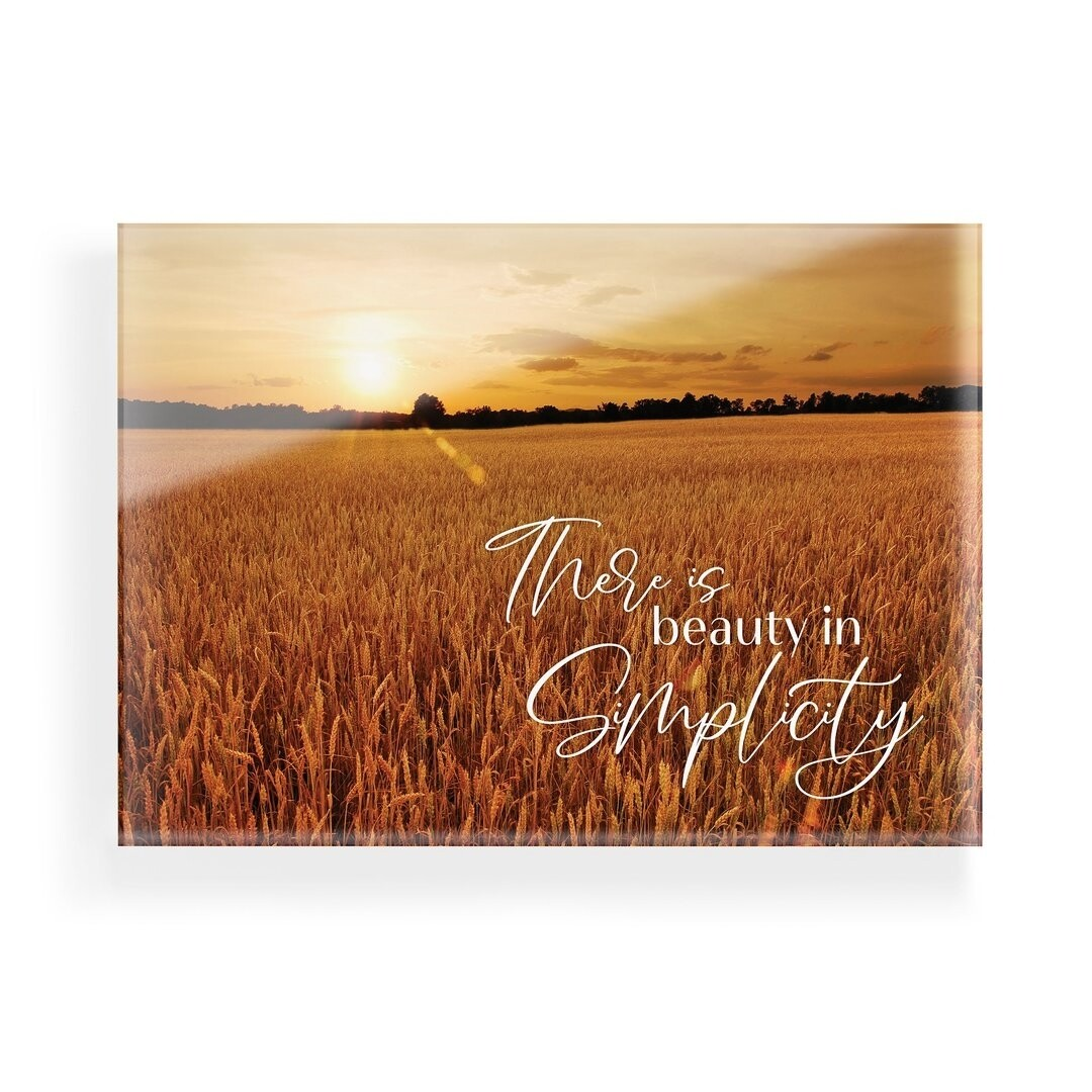 P.G. Dunn Glossy Sign - Beauty in Simplicity