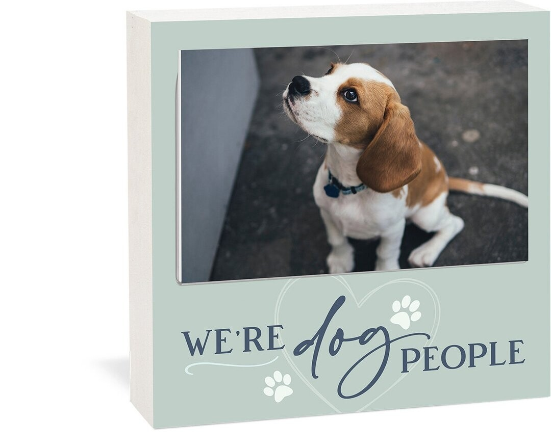 P.G. Dunn Photo Frame - We're Dog People