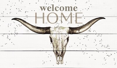 P.G. Dunn 12 Gauge Pallet Sign - Welcome Home