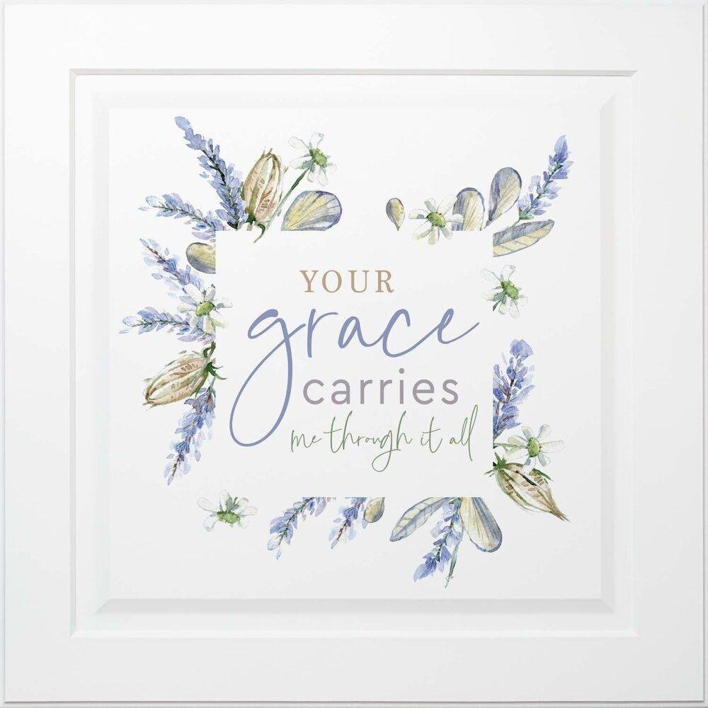 P.G. Dunn Ornate Framed Decor - Your Grace Carries Me
