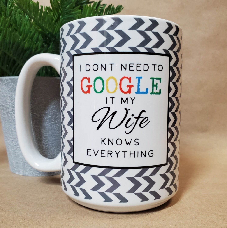 Carson Mug | Google
