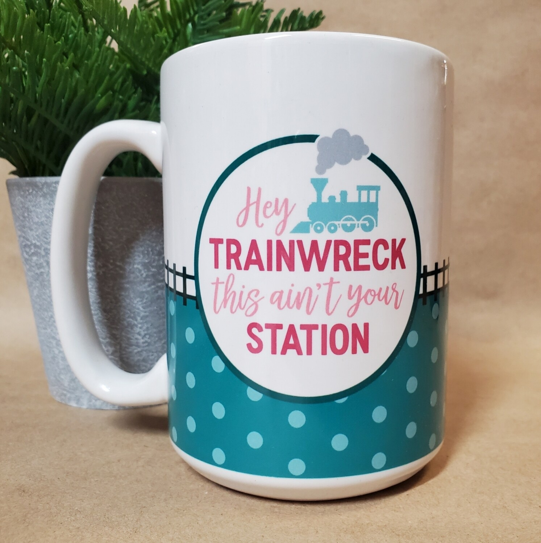 Carson Mug   Trainwreck