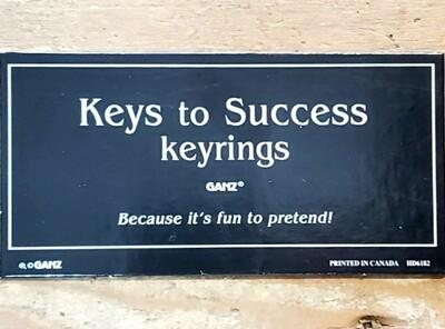 Keys To Success Key Rings