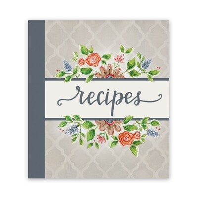 Brownlow Recipe Binder - Lattice Floral