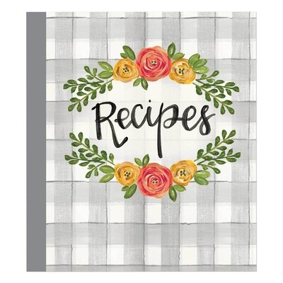 Brownlow Recipe Binder - Floral