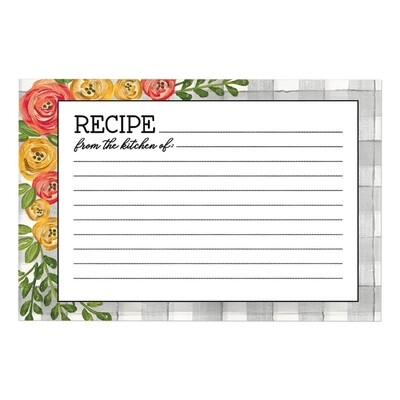 Brownlow Recipe Cards - Floral