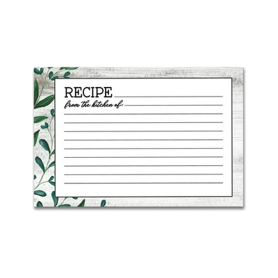 Brownlow Recipe Cards - Vintage Kitchen