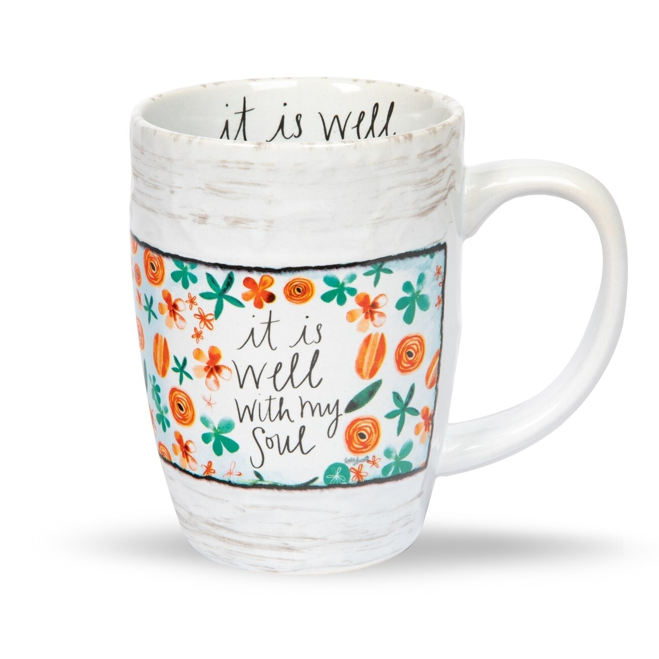 Brownlow Floral Mug - It Is Well