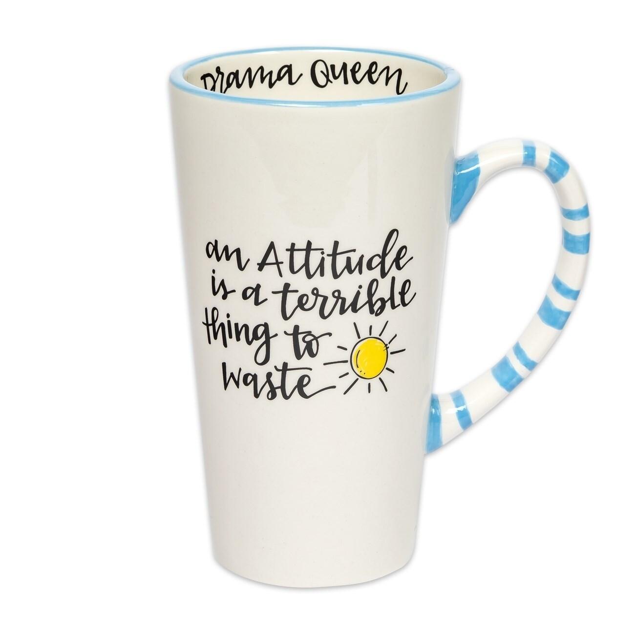 Brownlow Simply Sassy Latte Mug - Attitude