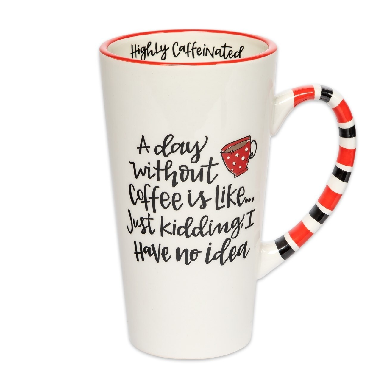 Brownlow Simply Sassy Latte Mug - A Day Without Coffee