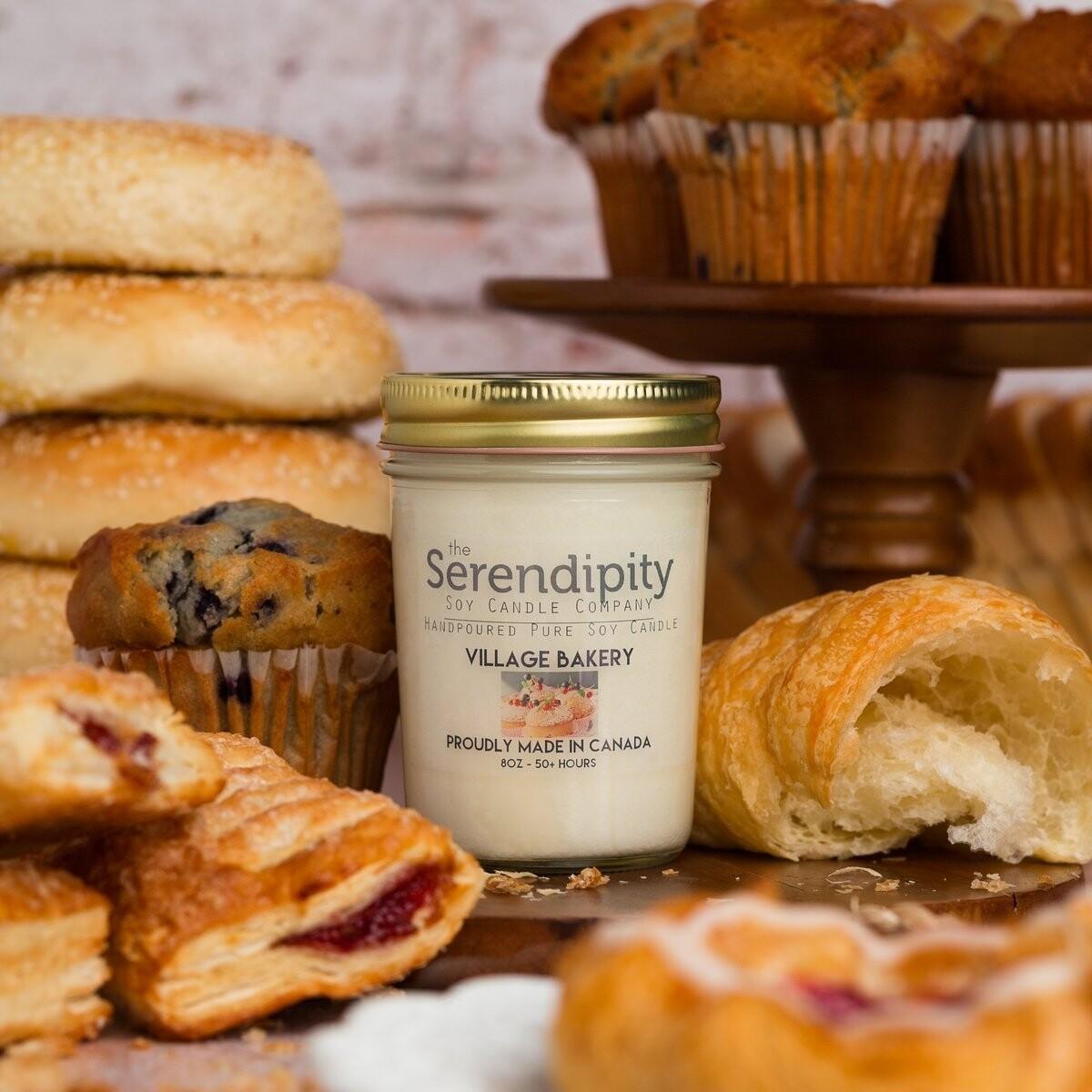 Serendipity 8 oz Soy Candle Jar | Village Bakery