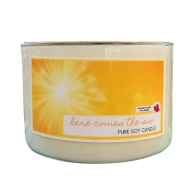 Serendipity 20 oz Soy Candle 3 Wick | Here Comes The Sun