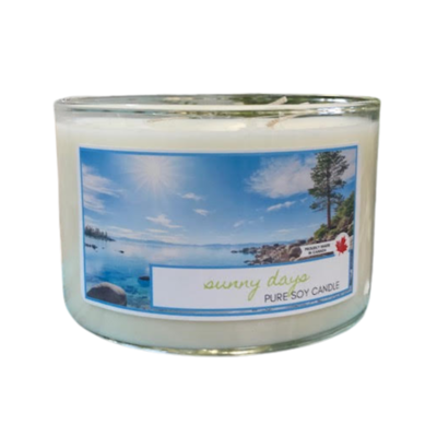 Serendipity 20 oz Soy Candle 3 Wick | Sunny Days