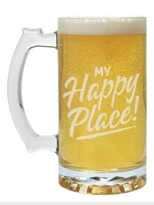Carson Beer Mug - My Happy Place
