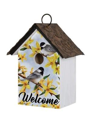 Carson Birdhouse - Spring Forsythia