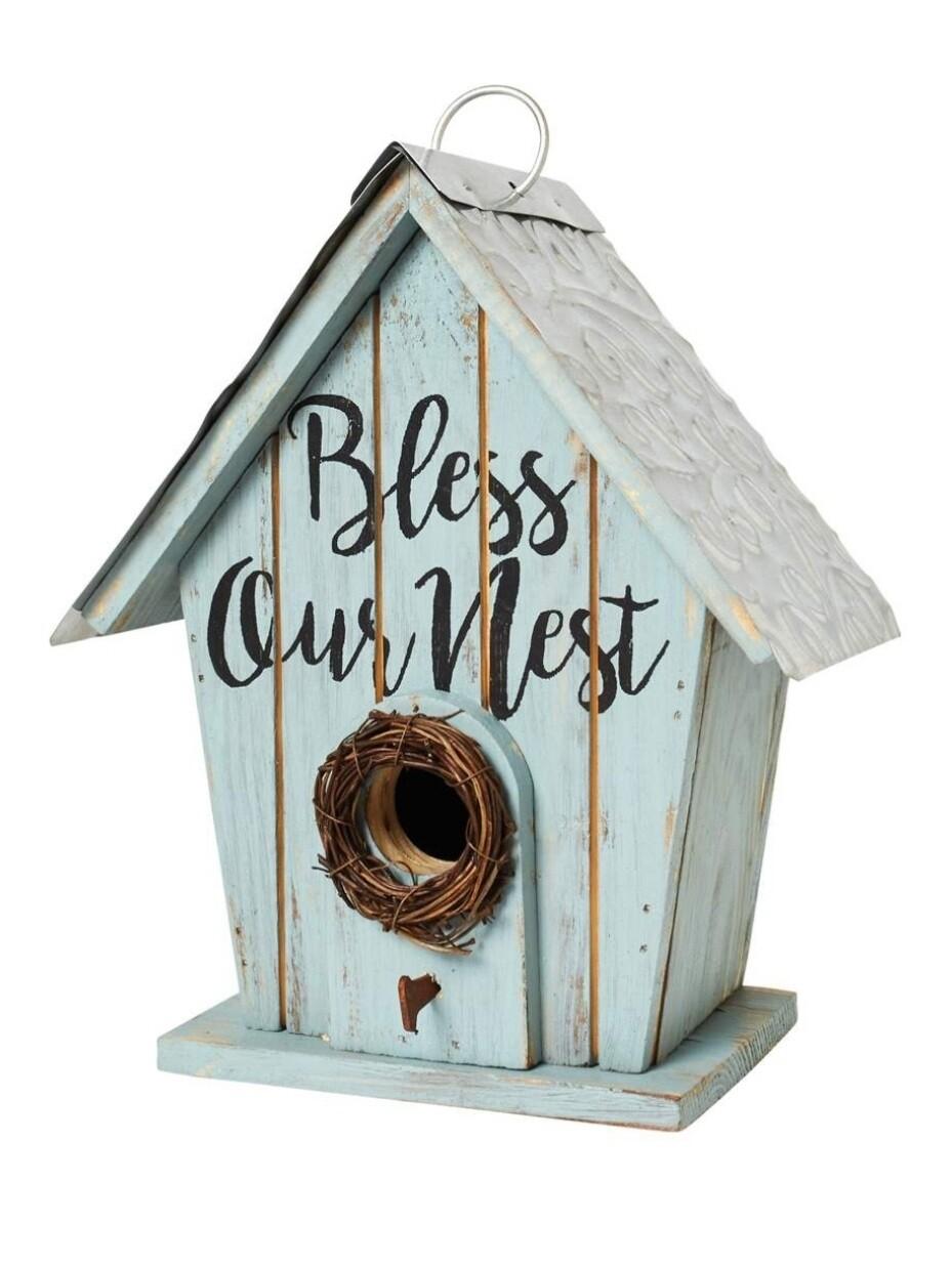 Carson Birdhouse - Bless Our Nest