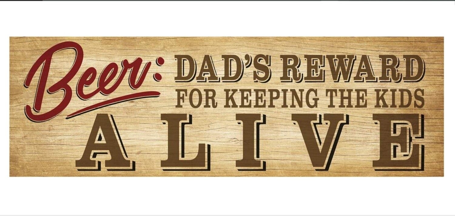 Message Bar - Dad's Reward