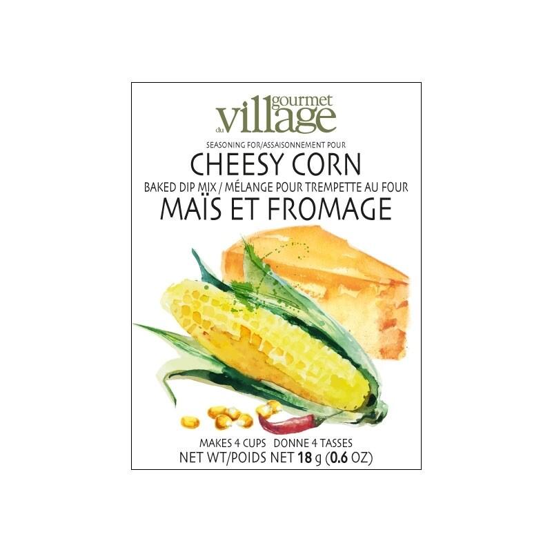 Gourmet du Village - Cheesy Corn Dip