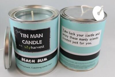 Tin Man Collection Candle - Beach Bum