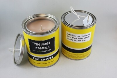 Tin Man Collection Candle - The Camper
