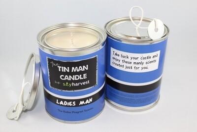 Tin Man Collection Candle - Ladies Man