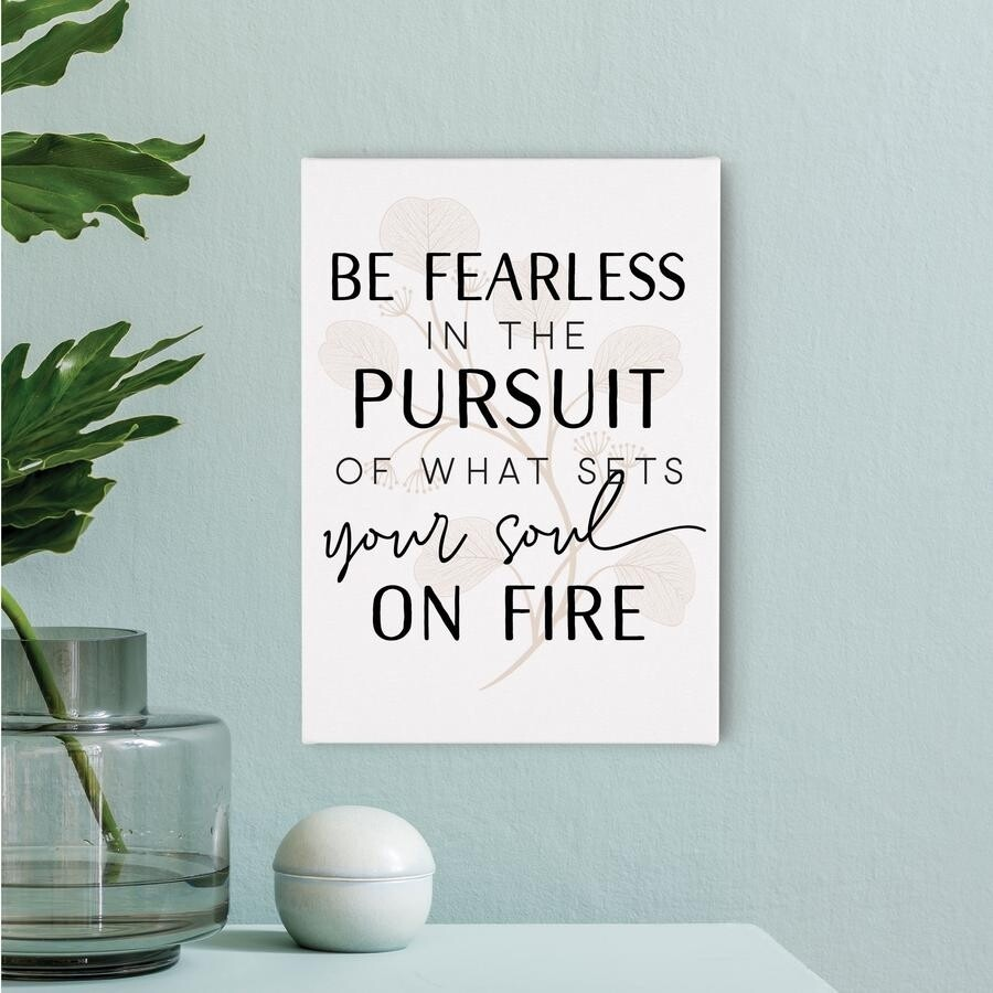 Small Canvas - Be Fearless