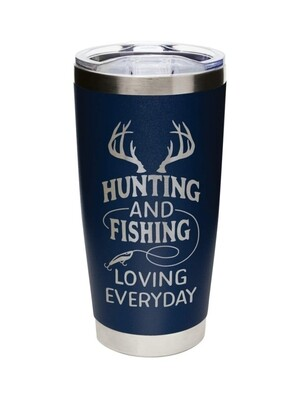 Carson 20oz Stainless Steel Tumbler - Hunting and Fishing Loving Every Day