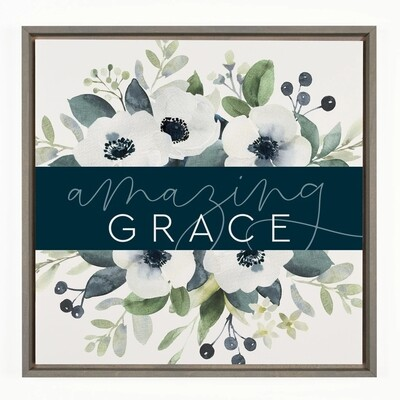 P.G. Dunn Framed Sign - Amazing Grace