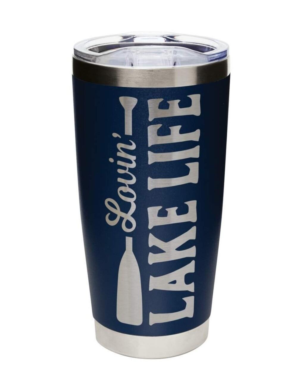 Carson 20oz Stainless Steel Tumbler - Lovin' Lake Life