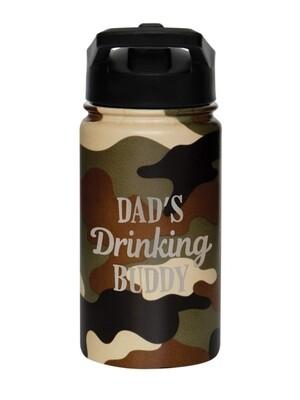 Carson 14oz Stainless Steel Children's Sport Bottle - Dad's Drinking Buddy