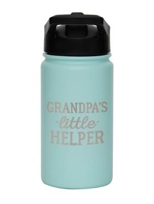 Carson 14oz Stainless Steel Children's Sport Bottle - Grandpa's Little Helper