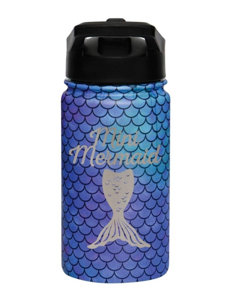Carson 14oz Stainless Steel Children's Sport Bottle - Mini Mermaid
