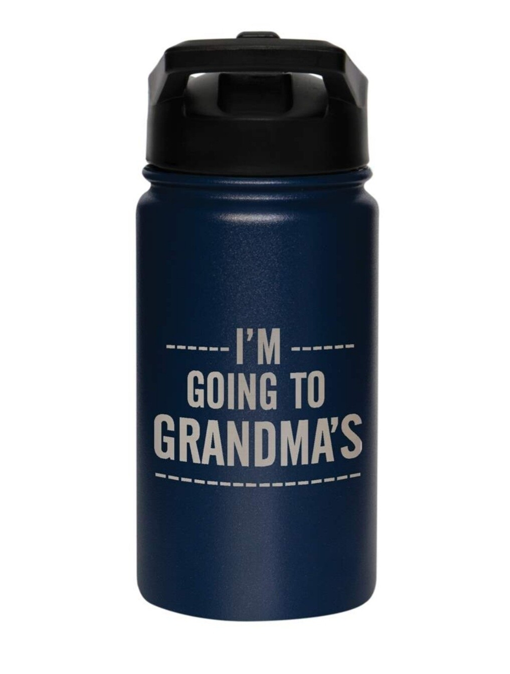 Carson 14oz Stainless Steel Children's Sport Bottle - I'm Going To Grandma's