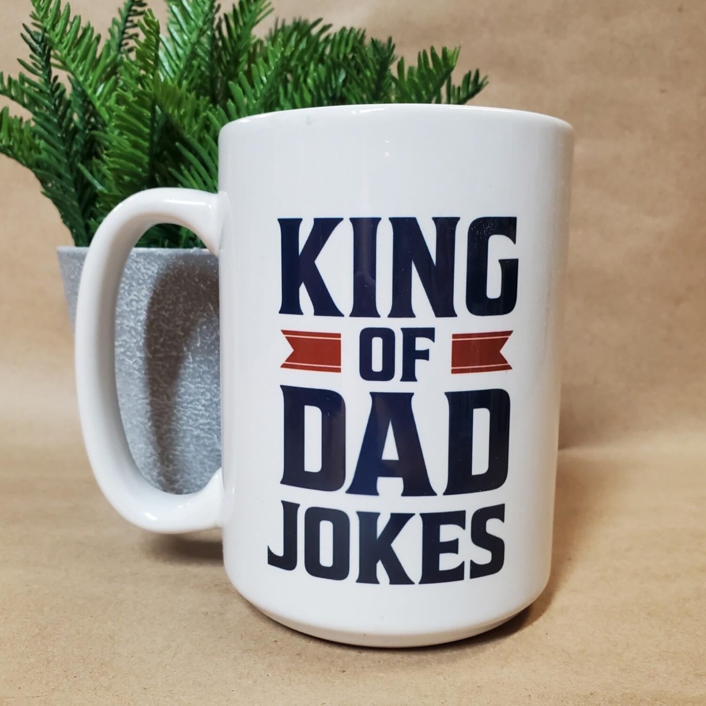 Carson Mug | King of Dad Jokes