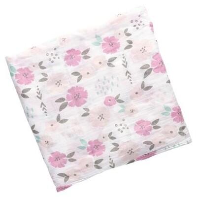 Stephen Joseph Muslin Blanket - Flower