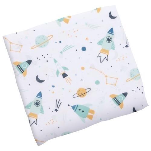 Stephen Joseph Muslin Blanket - Space