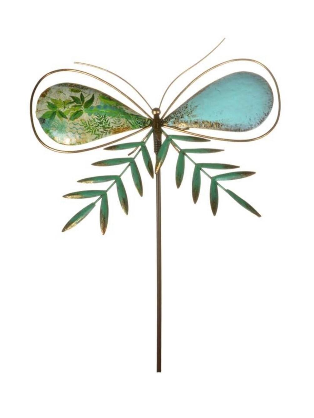 Metal Butterfly Garden Stake