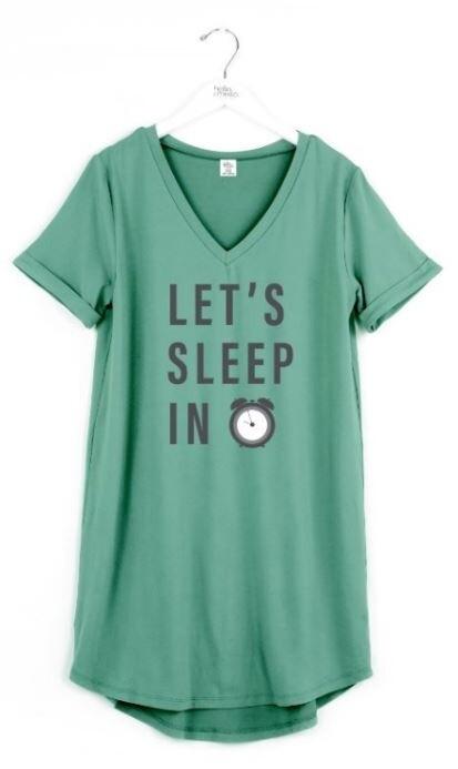 Hello Mello Sleep Shirt | Lets Sleep In